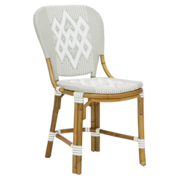 Buy Luxury Hekla Bistro Side Chair in Grey Online in NSW