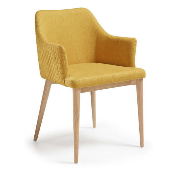 Buy Luxury Vienna Armchair - Quilted Mustard in NSW ...