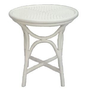 Buy Luxury Barbados Side Table - White Online in NSW