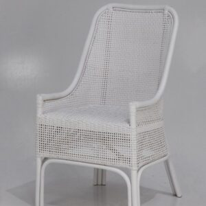 Buy Luxury Alabama Chair - Solid White Online in NSW