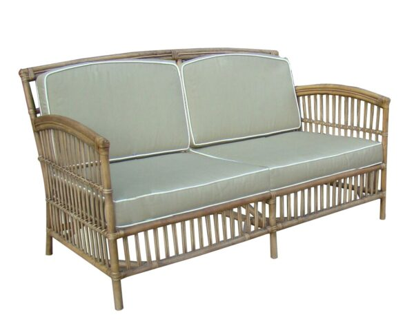 Buy Kentucky 2.5 Seat-Tobacco Rattan - Taupe Cushions Online in NSW