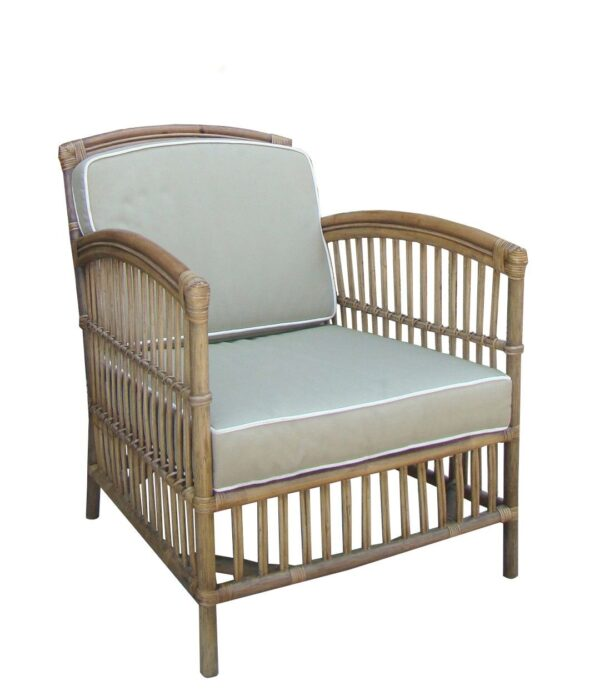 Buy Kentucky Armchair-Tobacco with Taupe Cushions Online in NSW