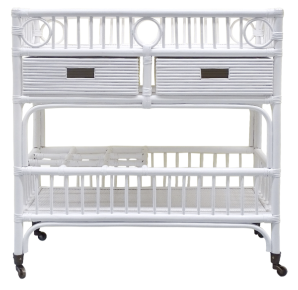 Buy Luxury Barbados Bar Caddy White Online in NSW
