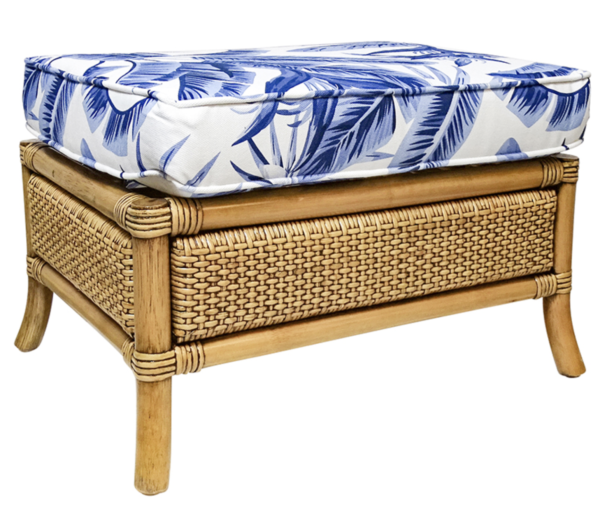 Buy Luxury Cayman Natural Foot Stool Online in NSW