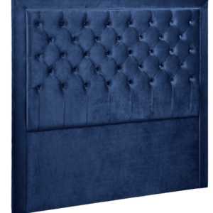 Buy Balmain Button Tufted Queen Navy Headboard in Australia