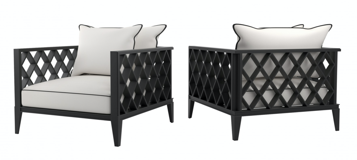 Buy Luxury RODEO BLACK OUTDOOR ARMCHAIR in NSW, Sydney ...