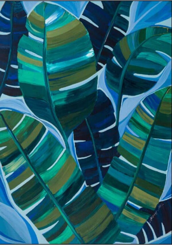 Buy Luxury Mangrove - Abstract 915mm x 1295mm in NSW