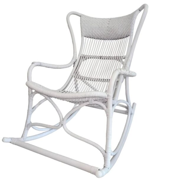 Buy Luxury Barbados Rocking Chair White Online in NSW