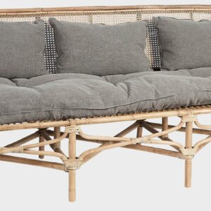 Buy Luxury Cape Rattan Bench Taupe Online in NSW