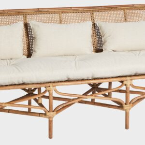 Buy Luxury Cape Rattan Bench Seat Natural Online in NSW