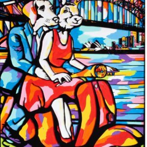 """Gillie and Marc Limited Print - """"She was a woman going places"""" in Australia"""