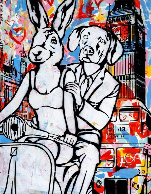 """Gillie and Marc Limited Print - """"They were Londoners"""" in Australia"""