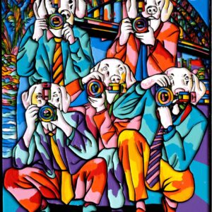 """Gillie and Marc Limited Print - """"The Pap Dogs were no ordinary dogs"""" in Australia"""