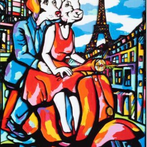 """Gillie and Marc Limited Print - """"They were happy to go everywhere"""" in Australia"""