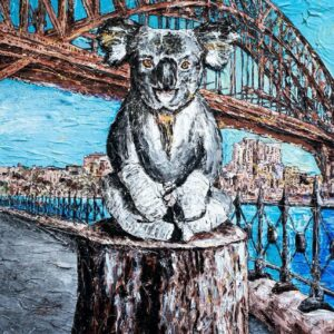 """Gillie and Marc Limited Print - """"Lewis in Sydney"""" in Australia"""